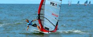 Windsurfing Czas nad Morze